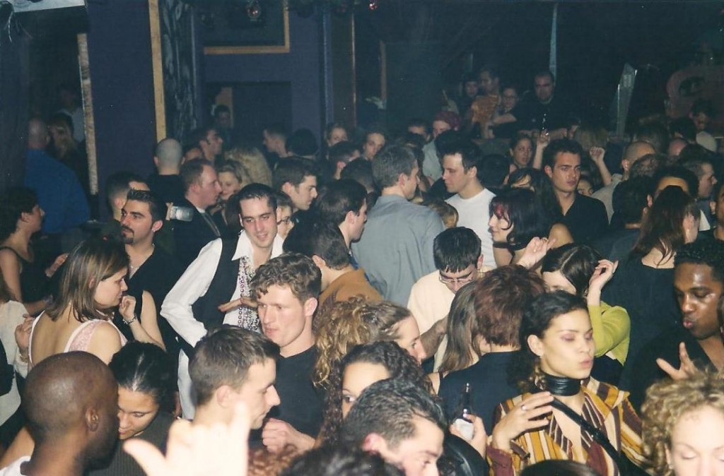 Packed dancefloor for The Living Room's Angel Moraes event. Photo courtesy of Pat Boogie.