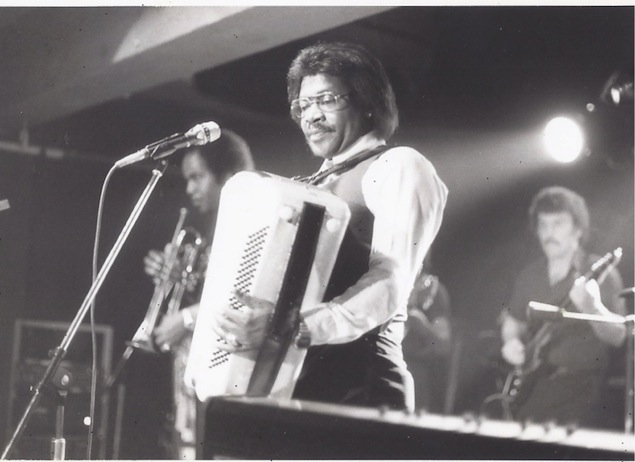 Buckwheat Zydeco at the BamBoo. Photo courtesy of David Barnard.