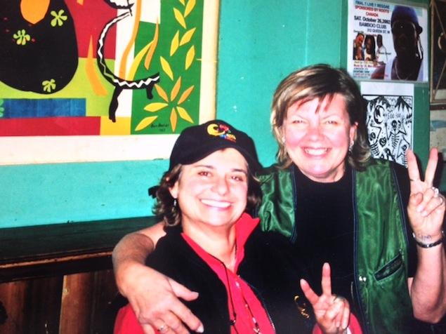 Patti Habib (left) and Inge Kuuts. Photo courtesy of Kuuts.