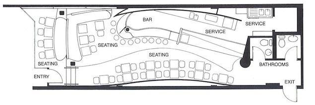 Boa Café layout.