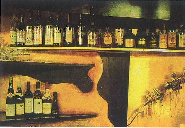 The Boa bar, as featured in the Oct. 1991 edition of Interior Design magazine. Image courtesy of INK Entertainment.