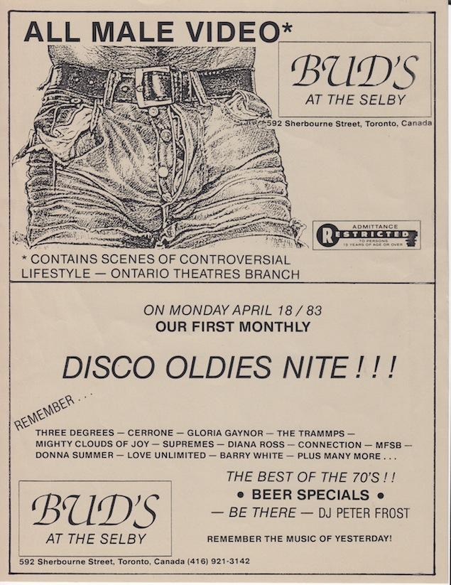 Boots and Bud's ad courtesy of Bob Harrison Drue.