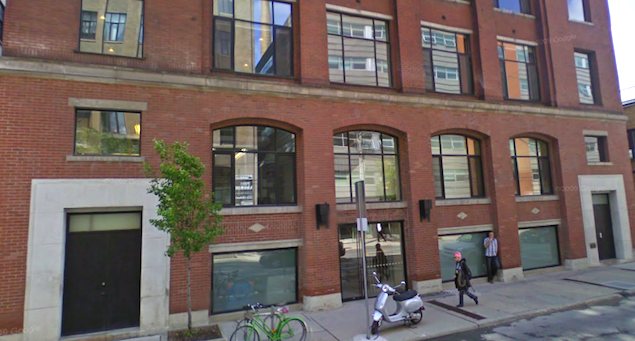 379 Adelaide St. W., as it appears today.