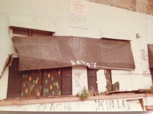 The David's site as it appeared in 1979. Photos by Joan Anderson, courtesy of the Canadian Lesbian & Gay Archives.