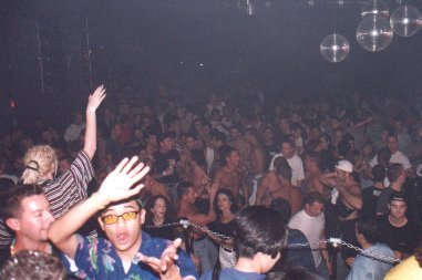 Crowd loving Danny Tenaglia at Industry. Photo courtesy of Gavin Bryan.