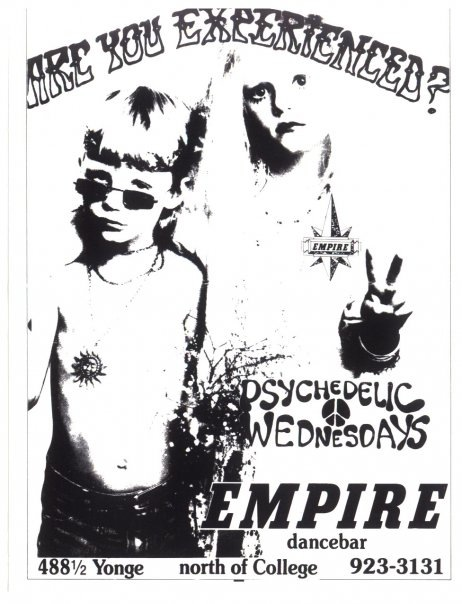 Psychedelic Wednesdays promo. Image courtesy of Michelle Eldred.