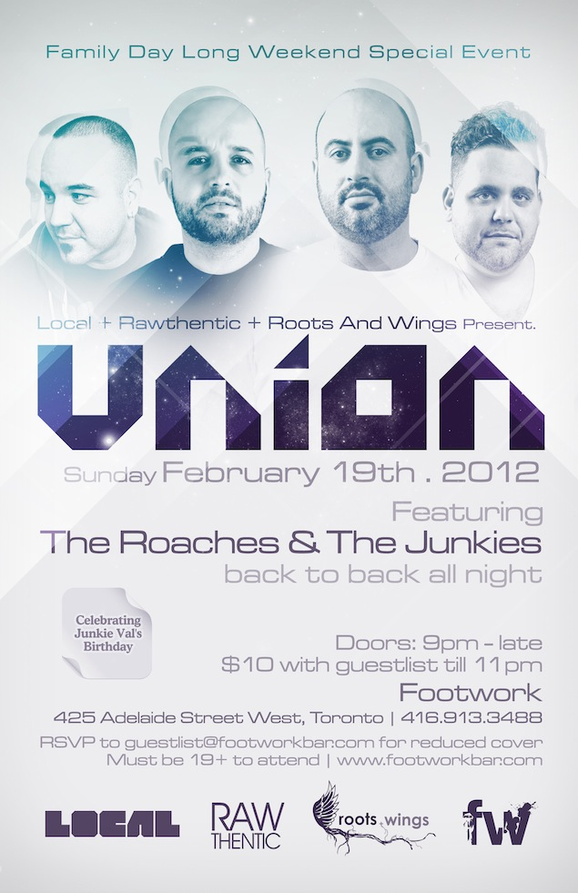 Union flyer courtesy of Jonathan Rosa.