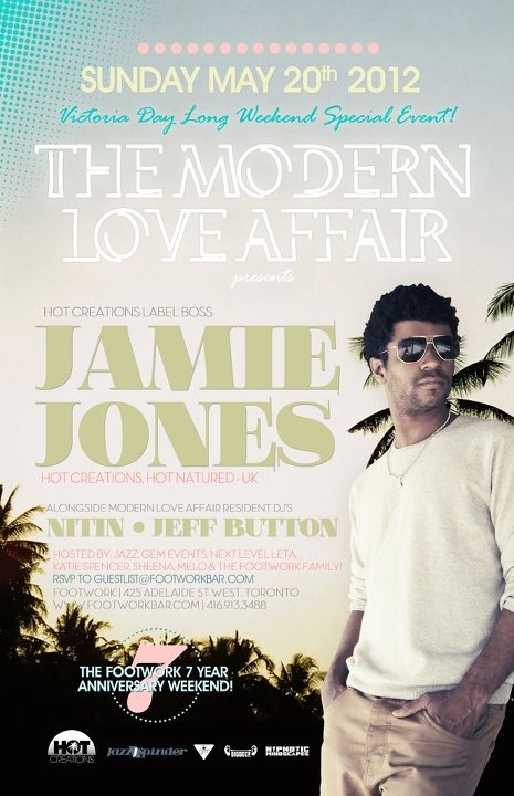 Modern Love Affair flyer courtesy of Jonathan Rosa.