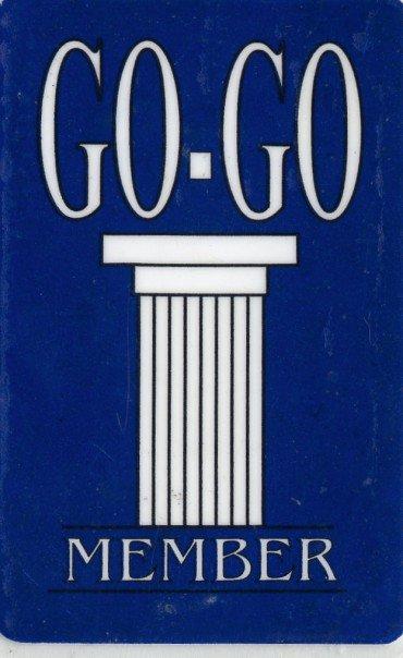 Go-Go Member card. Courtesy of Jeremy Markoe.