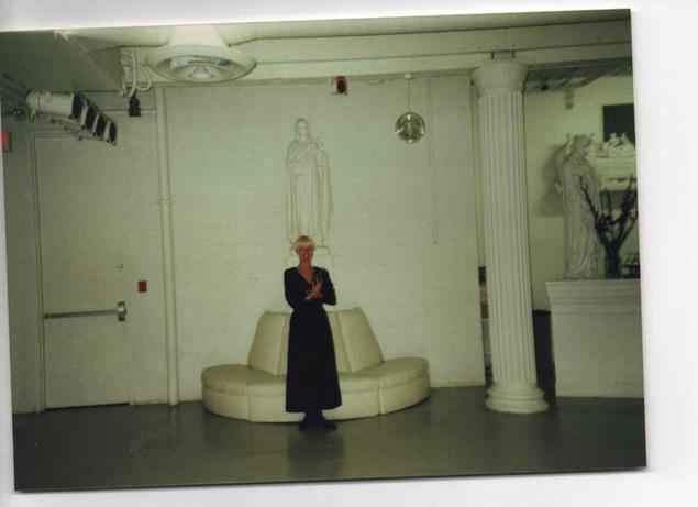 The White Room. Photo courtesy of Kim Ackroyd Oka.