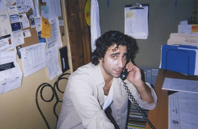 Salvatore Natale in the Gypsy Co-op office. Photo courtesy of Mike Borg.