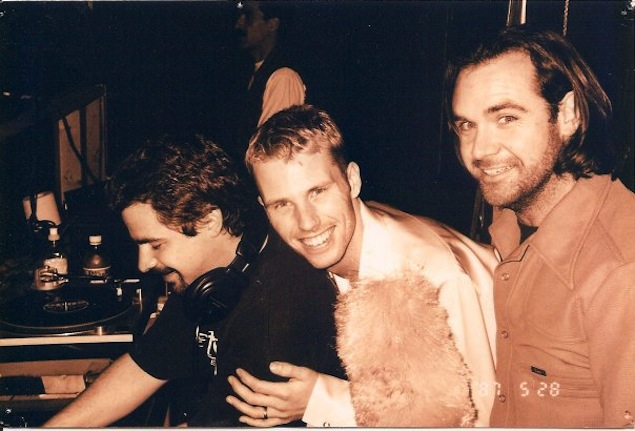 Scott Cairns (left), John Wulff and Gilles Belanger. Photo courtesy of Wulff.