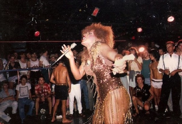 Randy Cole as Tina Turner. Photo courtesy of Shawn Riker.