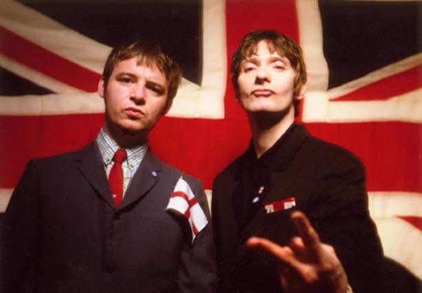 Bobbi Guy (left) and Mark Holmes, circa 1999. Photo by Edward Pond.