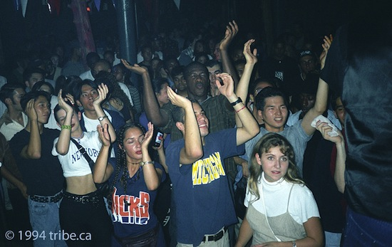 Toronto dance clubs in the 90s