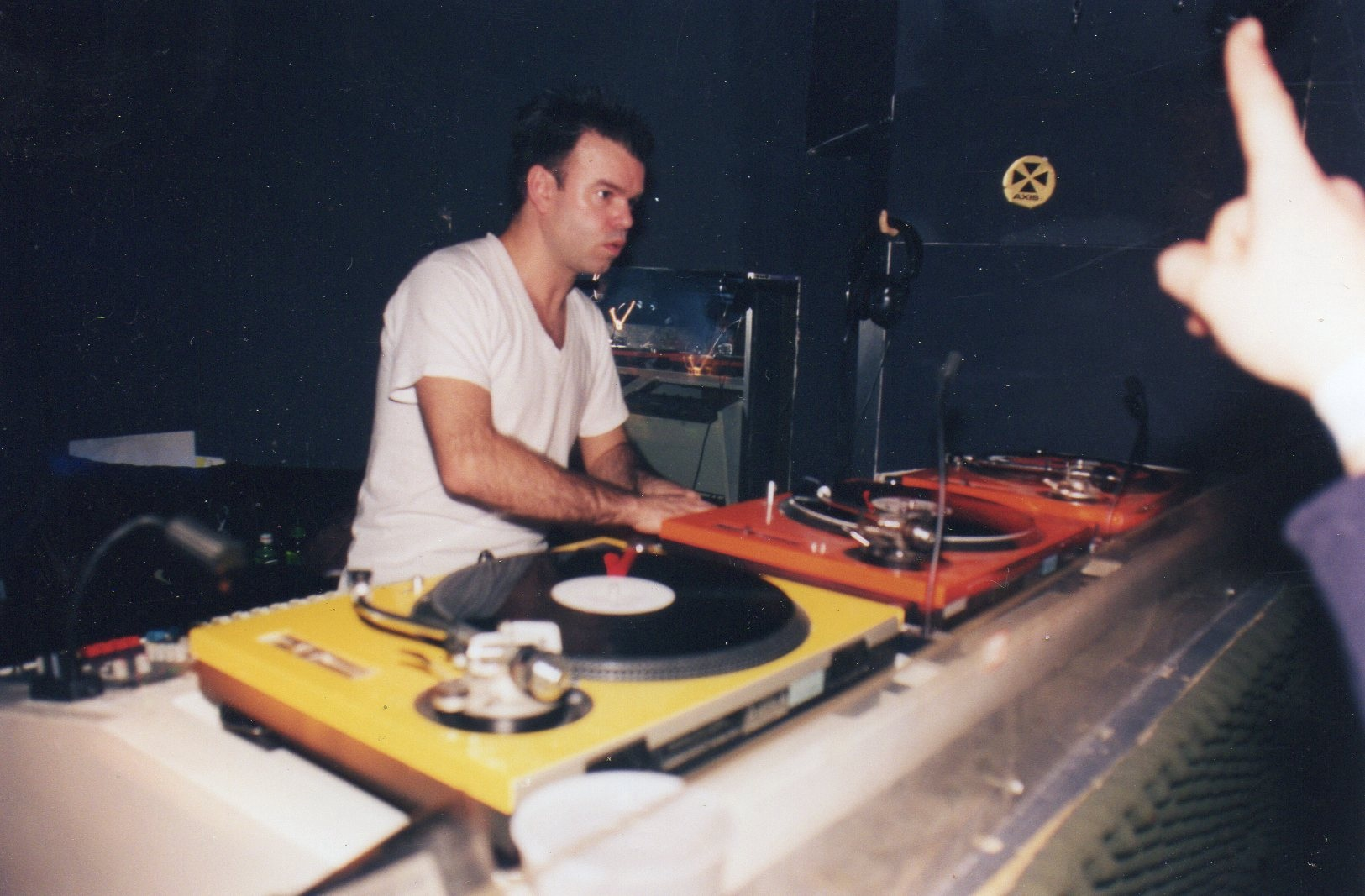 Paul Oakenfold at Industry in 1997. Photo courtesy of Gavin Bryan.
