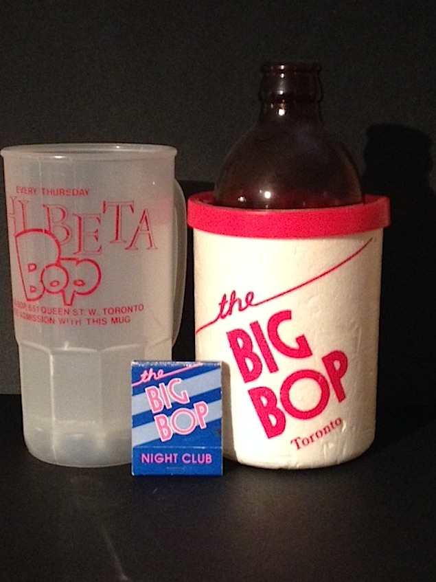 Big Bop promo goods, Photo courtesy of Joey Santaguida.