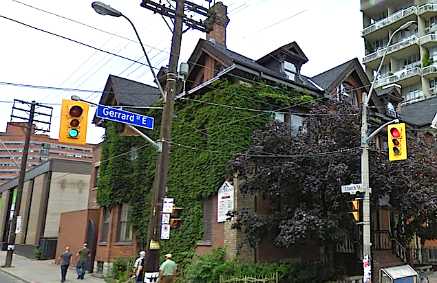 70 Gerrard Street East today.