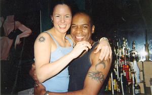 Llongtime bartenders Jen Hill & JD. Photo courtesy of Albert Assoon.