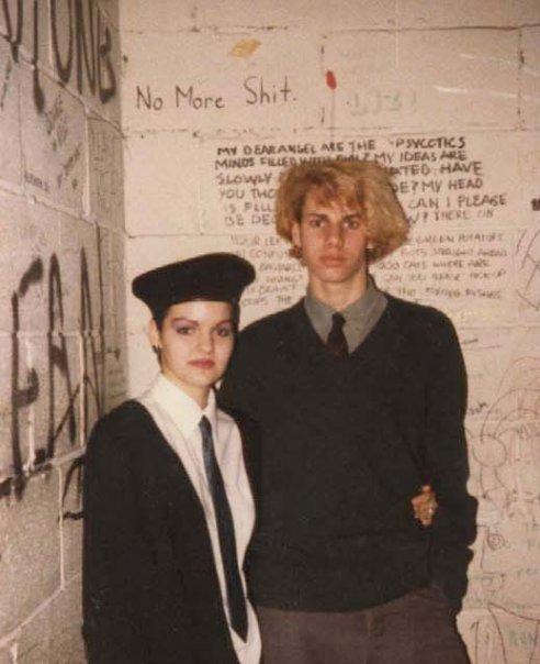Ryan Carleton with Danielle Gellatly.