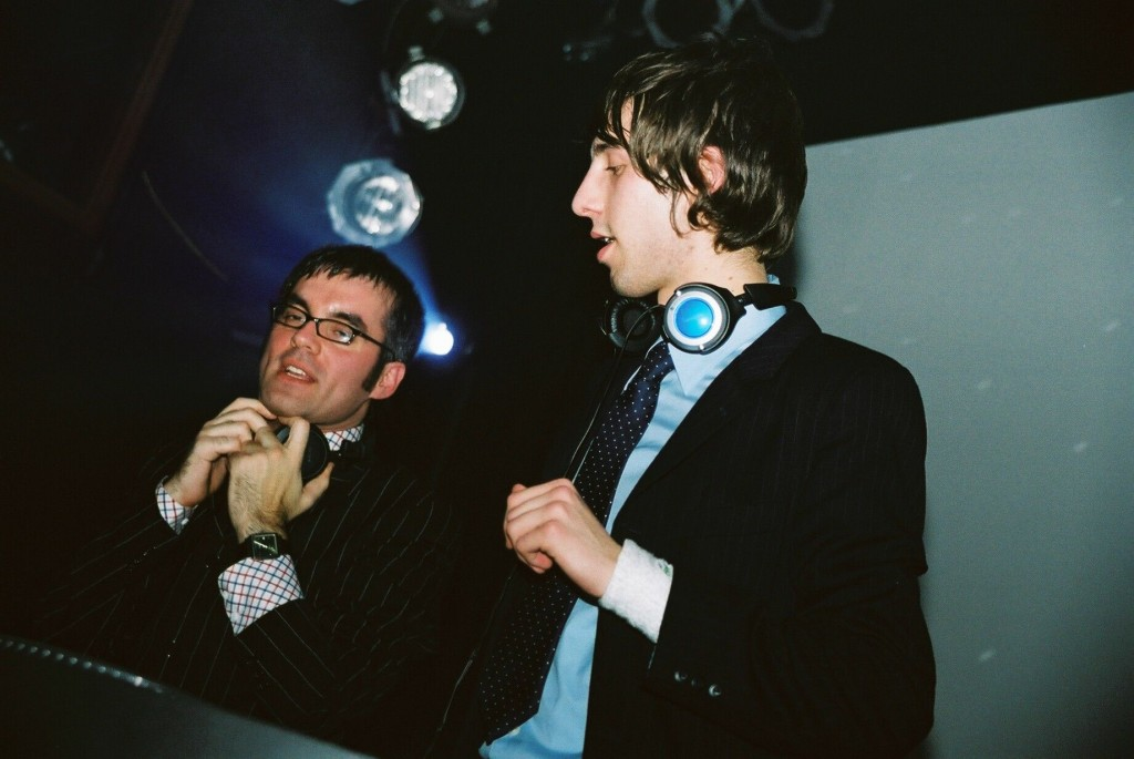 DJs DaSilva and Benny K. Photo by Trevor Roberts.