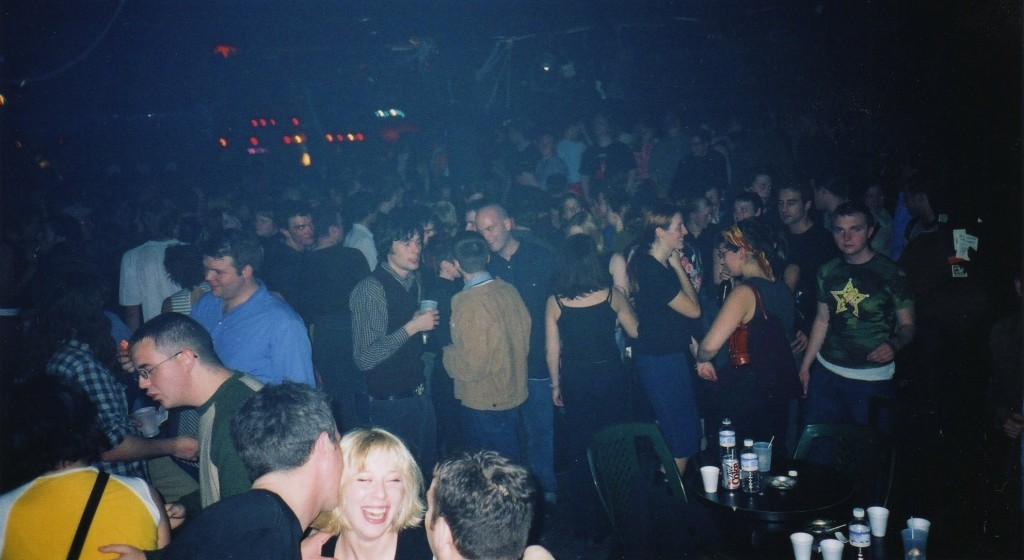 The crowd at Blow Up. Photo courtesy of Davy Love.