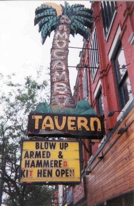 Blow Up marquee at the El Mo. Photo courtesy of Davy Love.