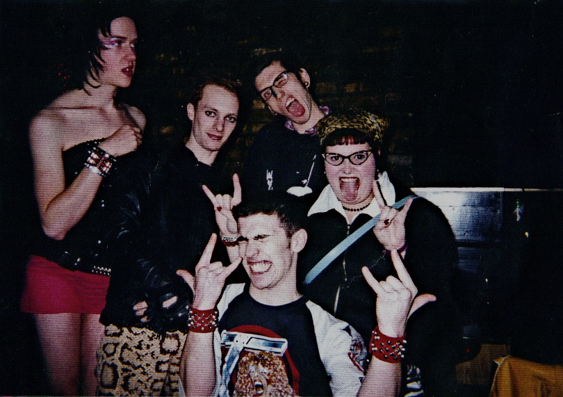 The Vaseline crew (clockwise from left): Tawny LeSabre, Will Munro, Bennett Jones Philips, Zoe Dodd, and John Caffery. Photo courtesy of Caffery.