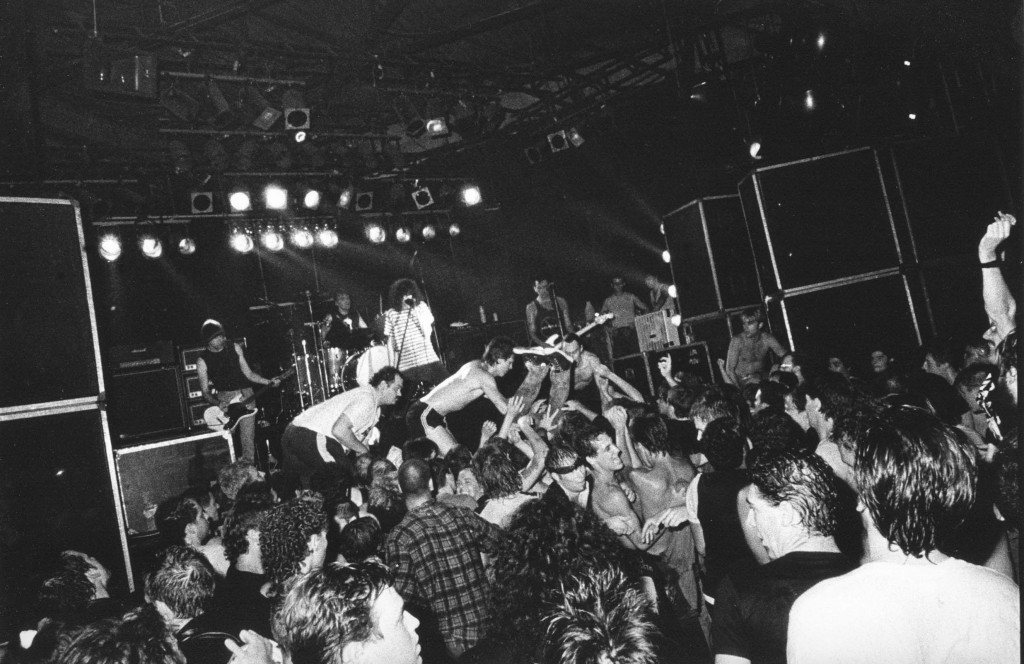 The Ramones at RPM in 1987. Photo courtesy of GaryTopp / PHOTOSYNTHESISSTUDIO.COM