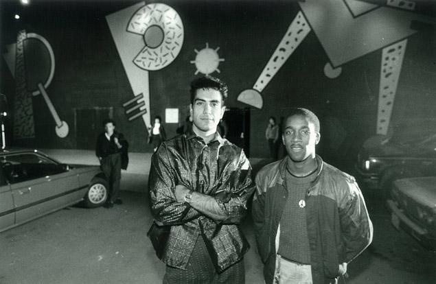 RPM security workersChamp Frangakis (left) and Pat Alleyne. Photo: John Mahler/Toronto Star.