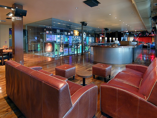 The Hard Rock Cafe upper level.
