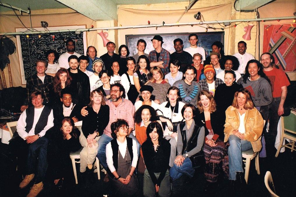 BamBoo staff circa the mid 1980s. Photo courtesy of Inge Kuuts.