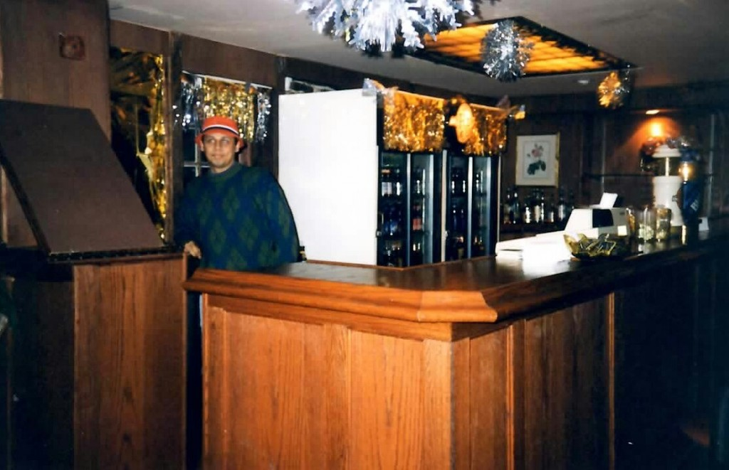 The final iteration of the Boots bar, circa 1997. Photo courtesy of Brent Storey.