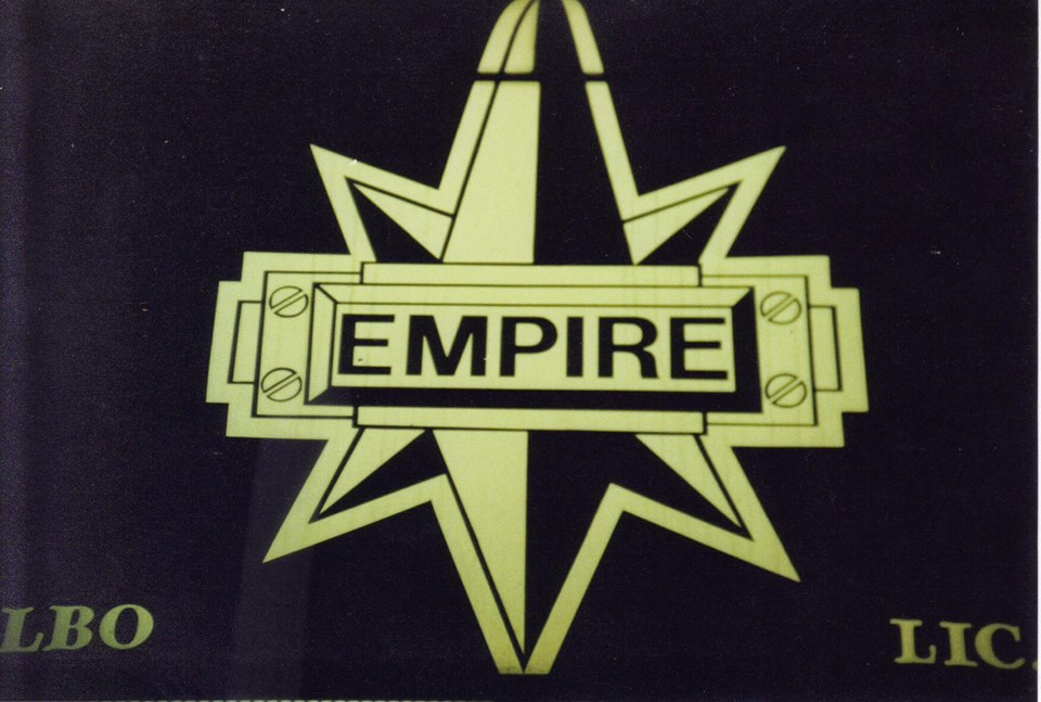 Empire's marquee. Courtesy of Tim Barraball.