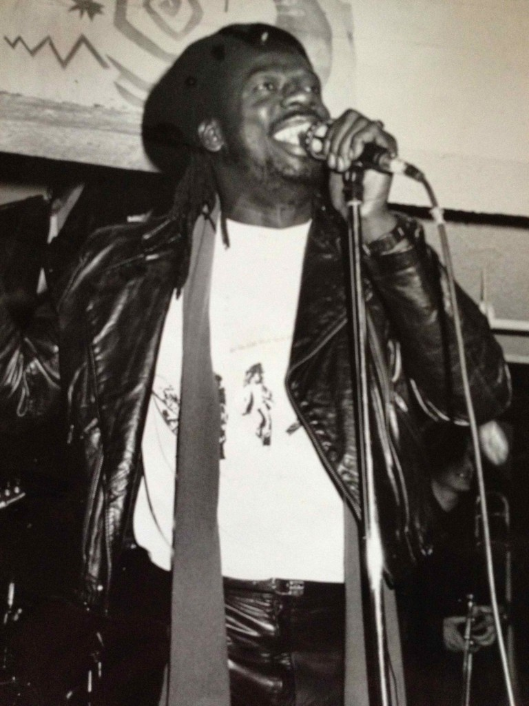 Leroy Sibbles was a frequent performer at the BamBoo. Photo courtesy of Patti Habib.