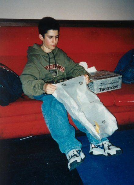 A very young DJ A-Trak at Reverb, 1997. Photo courtesy of Carlos Mondesir.