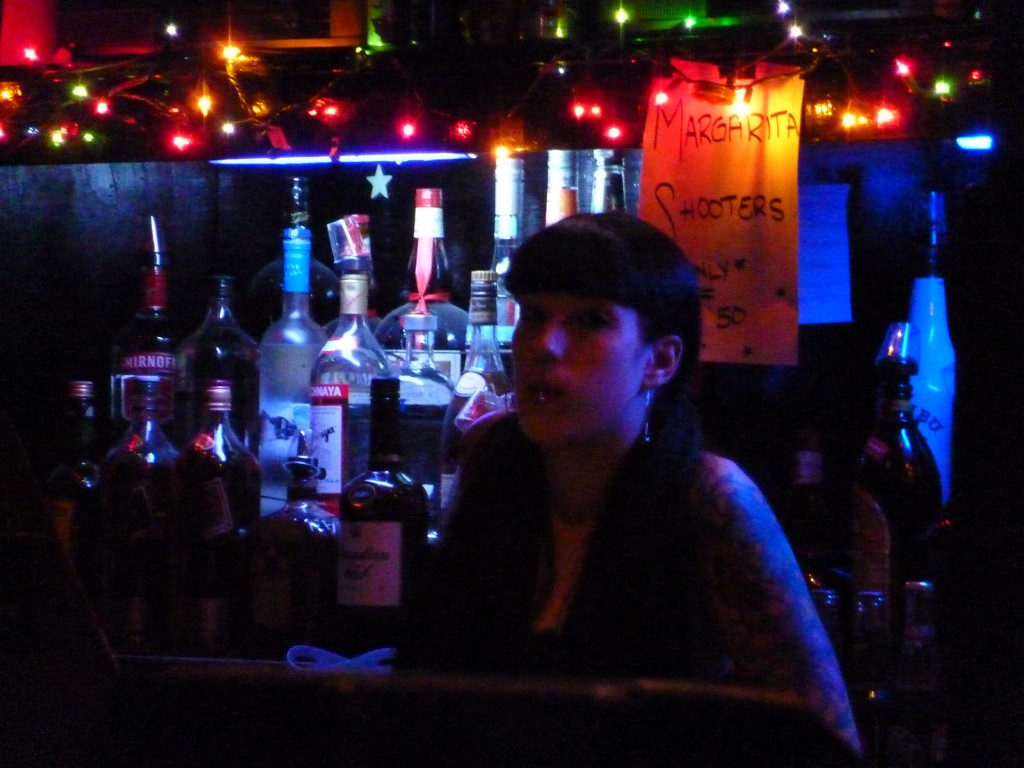 Bartender Alex. Photo courtesy of Lucy Van Nie.