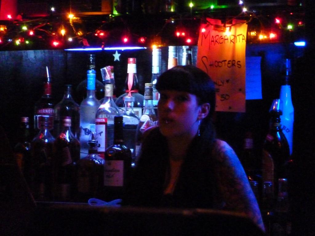 Bartender Alex. Photo courtesy of Lucy Van Nie.