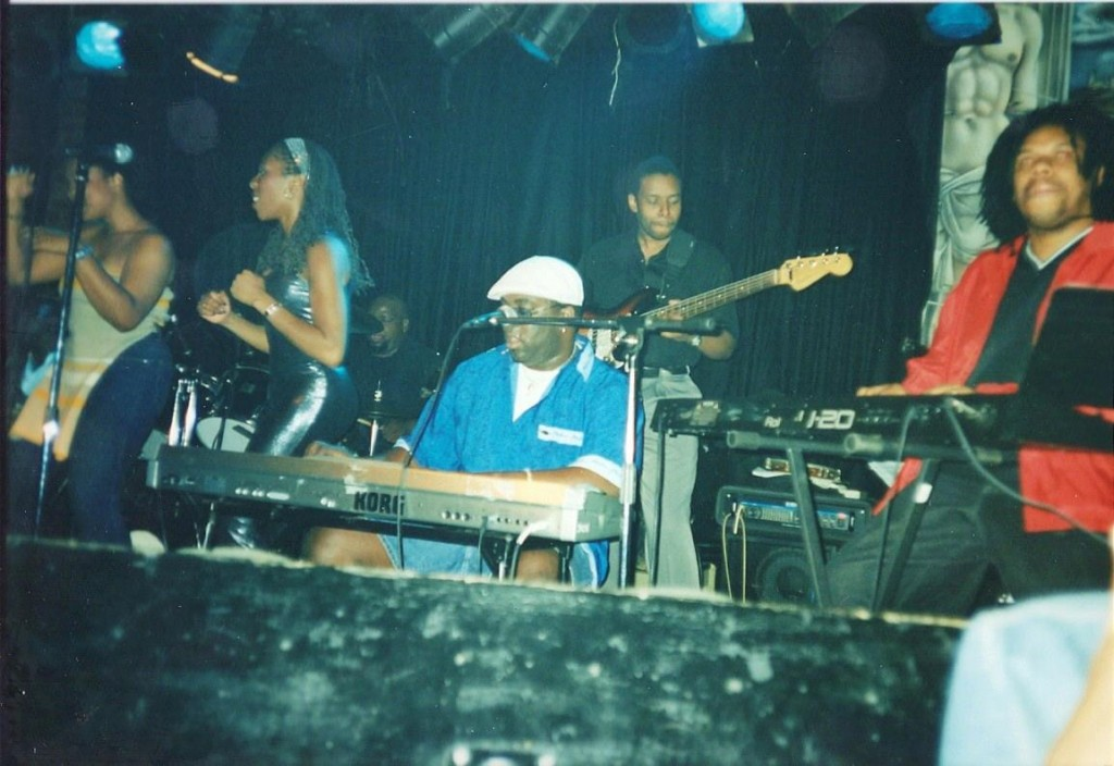 Bump N' Hustle band, featuring the late David 'Soulfingaz' Williams. Photo courtesy of Carlos Mondesir.