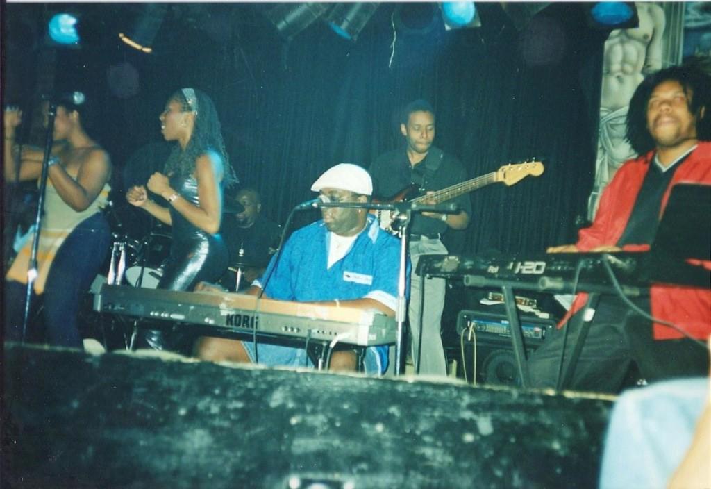 Bump N' Hustle band, featuring the late David 'Soulfingaz' Williams. Photo courtesy of Carlos Mondesir.