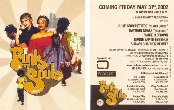 Funk n Soul flyer Reverb