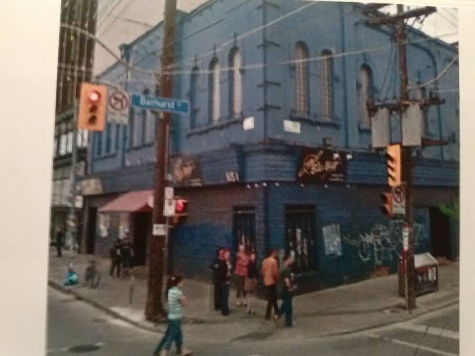 The new Big Bop, with windows. Circa 1997. Photo courtesy of Trevor Mais.