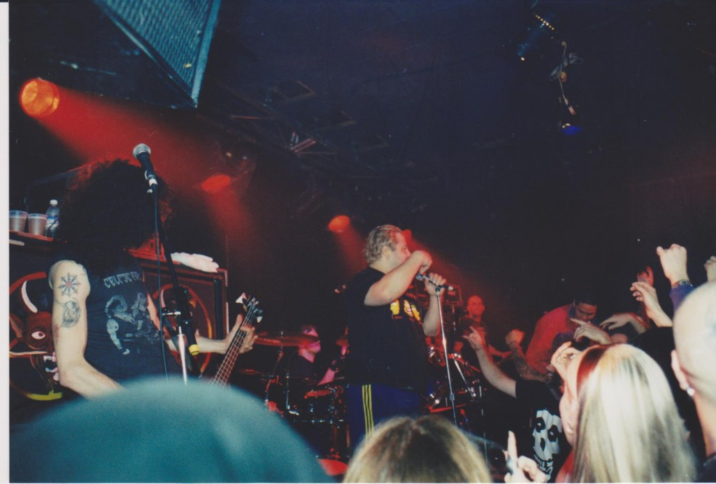 Stormtroopers Of Death at Kathedral in November 1999. Photo courtesy of Noel Peters.