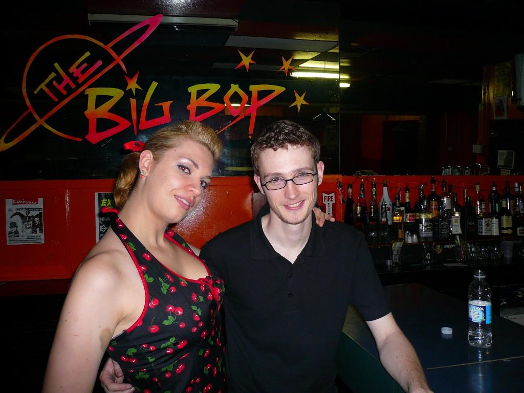 Tina and Chris, November 2007. Photo courtesy of Lucy Van Nie.