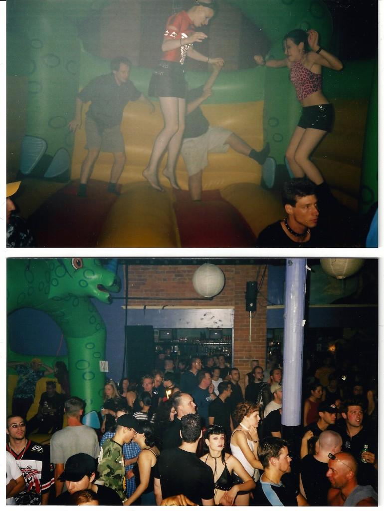 Bouncing good times at Darkrave. Photos courtesy of Lloyd 'DJ Lazarus' Warren.