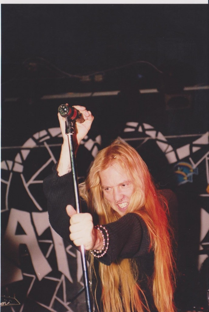 Thrash metal band Nevermore performs at Kathedral in 2000. Photo courtesy of Noel Peters.