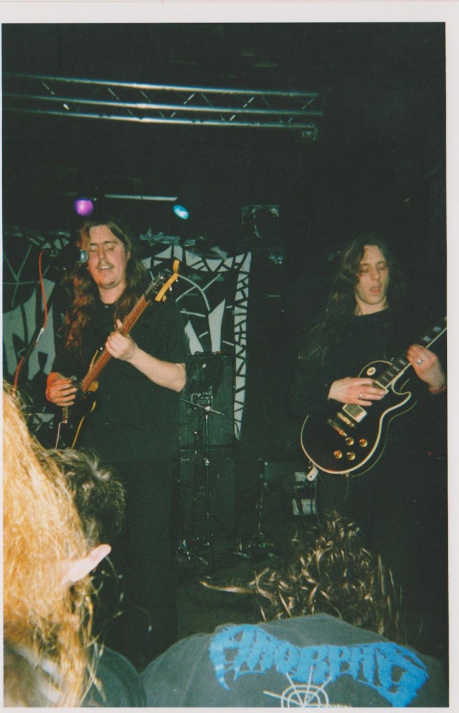 Opeth at Kathedral in 2001. Photo courtesy of Noel Peters.