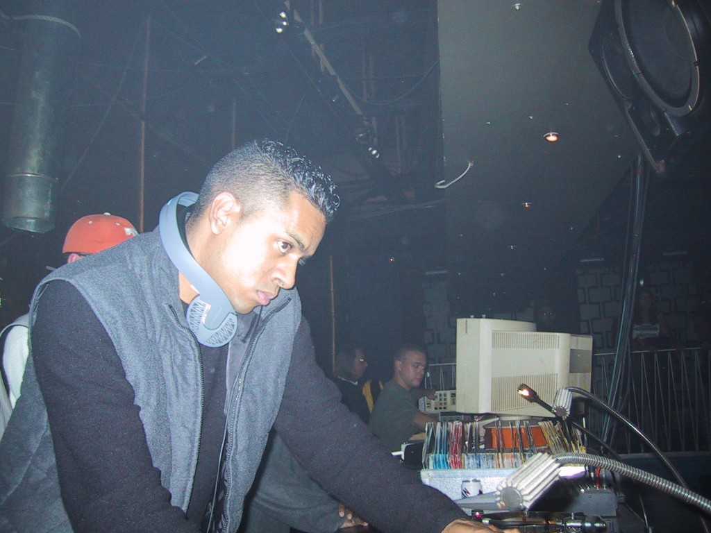 DJ Clymaxxx at Global Fridays, 1999. Photo courtesy of him.