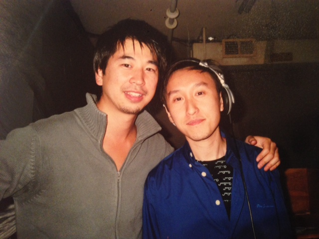 2 of Movement's 5 co-founders: Aki Abe (L) and John Kong (R). Photo courtesy of Abe.