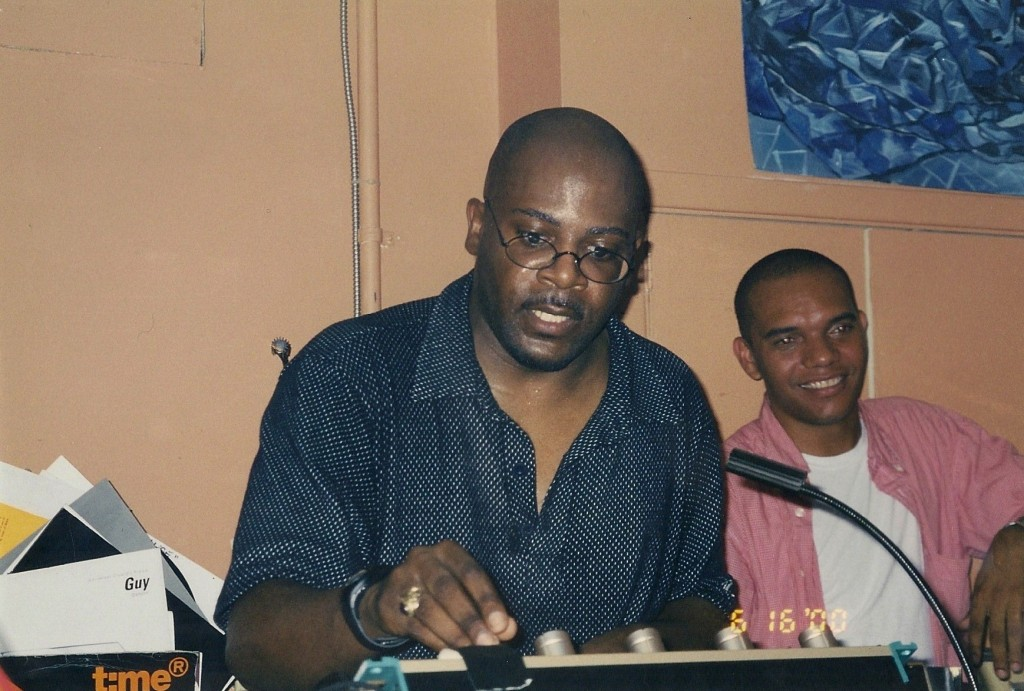 DJ Spen and Jerome Sydenham (R) at Garage 416. Photo courtesy of Hot Stepper Productions.